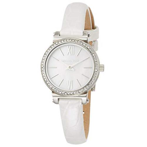 マークジェイコブス 時計 MARC JACOBS レザー ソフィー 型押し レディース 時計 腕時計 ホワイト MK2714【ブランド 新品 送料無料 誕生日 記念日 お祝い プレゼント 正規 人気 レディース 安心 保証 ギフト 10倍】