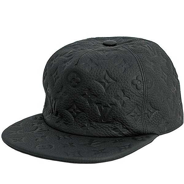 ルイヴィトン 帽子 キャスケット モノグラム クイル 1.0 トリヨンレザー ヴァージルアブロー ブラック 黒 LOUIS VUITTON ルイ・ヴィトン ビトン コラボ メンズ レディース キャップ 本革 おしゃれ アパレル 限定 ロゴ ブランド プレゼント 新品 送料無料