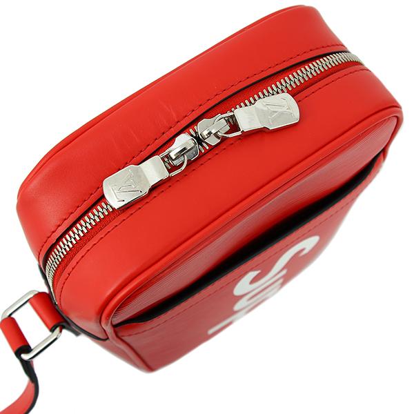 fe7fc997e21 LOUIS VUITTON Supreme DANUBE PM EPI Leather Red White Shoulder bag [Used]