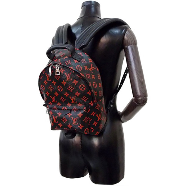 97d014809a24f LOUIS VUITTON Palm Springs backpack PM Monogram Infrarouge Black Red Men  Women [Used]. Used - Like New. Details