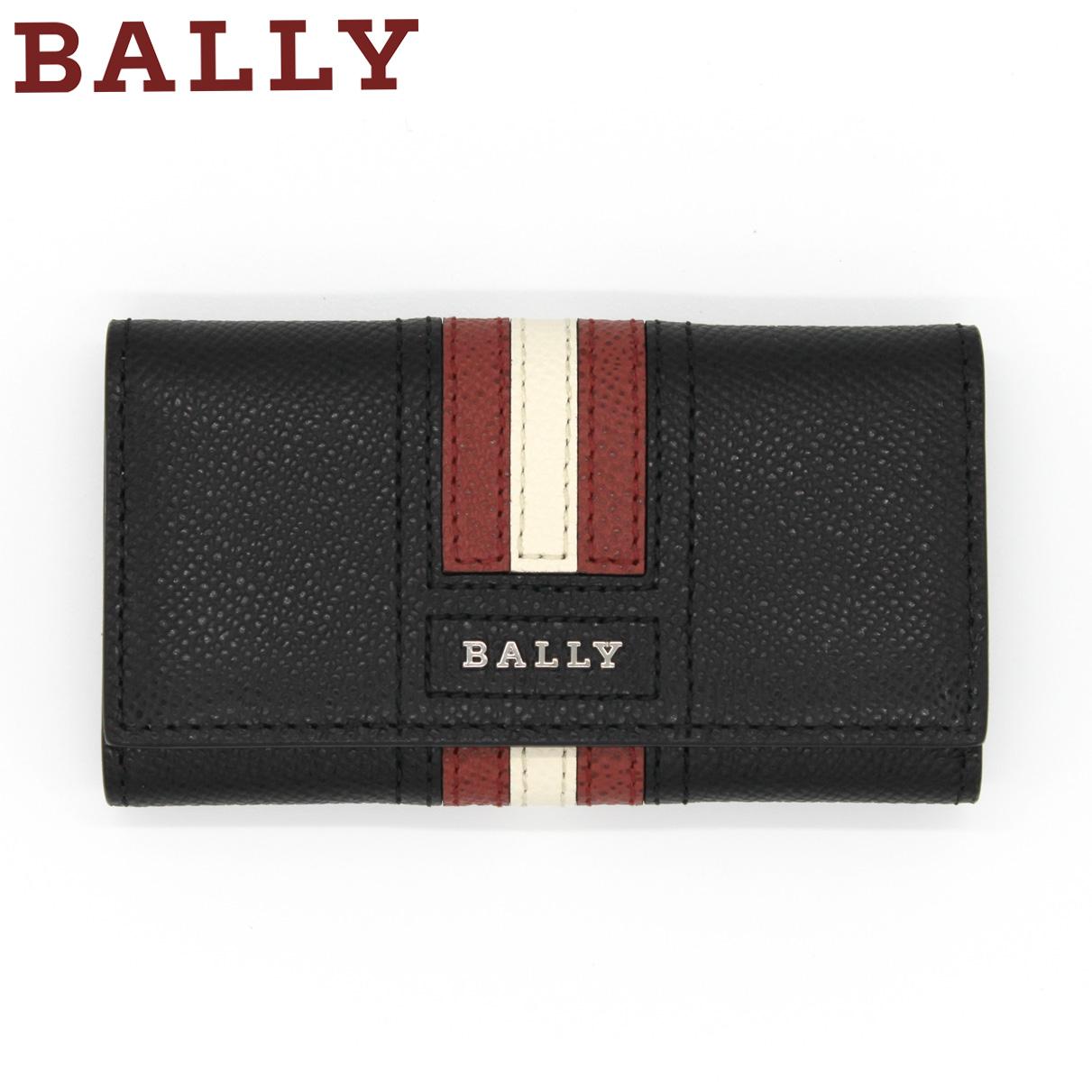 送料無料 営業日15時までのご注文で即日発送 スーパーSALE 10%OFF BALLY バリー 大特価 TALTOS.LT 10 BLACK メンズ ブレゼント ブラック レザー BLACKTALTOS キーケース LT モデル着用&注目アイテム