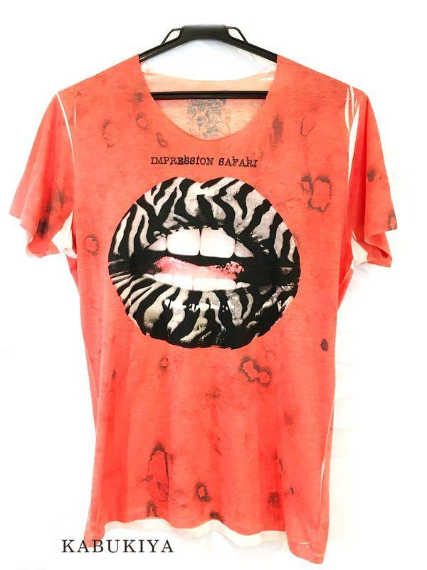 max six Tシャツ オレンジ  メンズ・レディース 人気ブランド【中古】 16-9077KJ