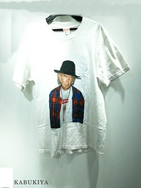 Supreme シュプリーム 15SS ニールヤング S/STee コットン 100% ホワイト 白 Tシャツ メンズ・レディース 人気ブランド【中古】 xx17-31405AR