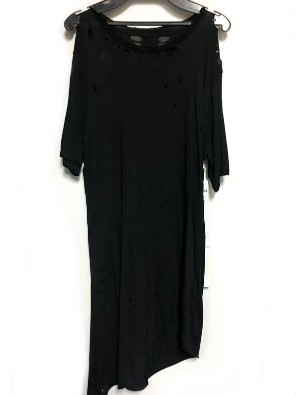 BEN TAVERNITI UNRAVEL PROJECT ロンT Tシャツ ブラック 黒 メンズ 人気ブランド【中古】 18-7384KJ