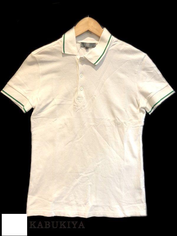 アレキサンダー マックイーン ポロシャツ Alexander McQUEEN Sサイズ USED 白 ホワイト 半袖 メンズ 人気ブランド【中古】18-15494MI