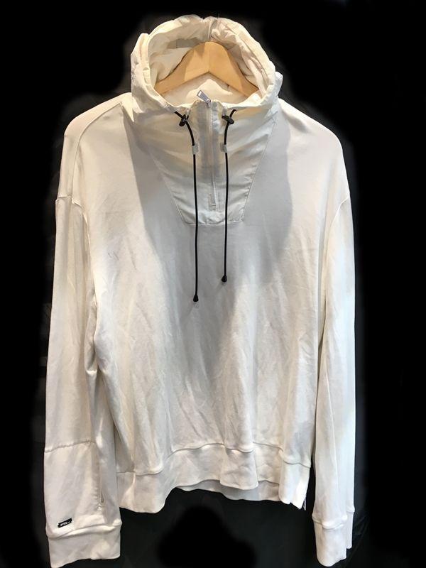 Ralph Lauren パーカー 白 ホワイト メンズ 人気ブランド【中古】 18-20563KJ