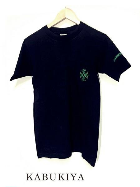 Chrome Hearts クロムハーツ フレームドクロス S/Stee Tシャツ 黒 メンズ・レディース 人気ブランド【中古】 7-2330AR