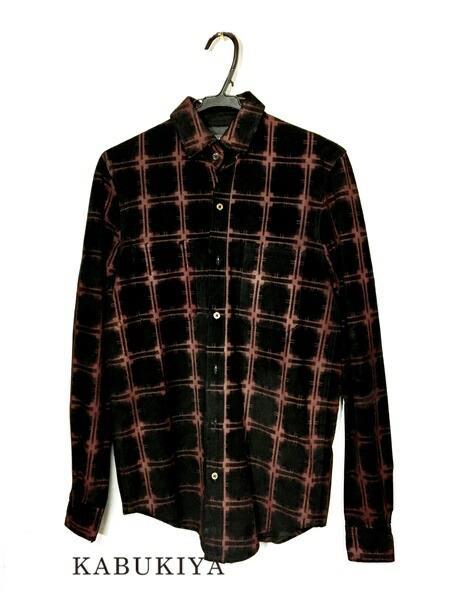 AMIRI アミリ レザーチェックシャツ 本革100% 赤×黒 レッド ブラック ストリート メンズ・レディース 人気ブランド【中古】 71-45191AR