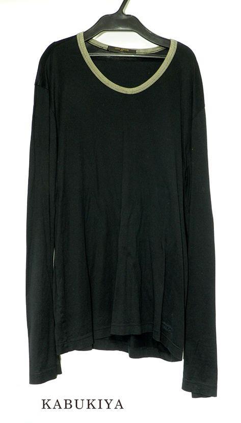 【即納】 LOUIS VUITTON ルイ ヴィトン ロングスリーブ 長袖Tシャツ ブラック 黒 サイズXL メンズ 人気ブランド【】19-11985my, TRAMS a79142cd