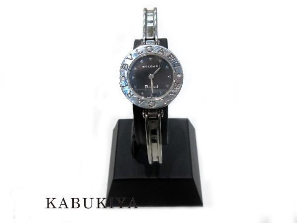 【中古】 BVLGARI ブルガリ BB22SS B-ZERO1 バングルウォッチ 腕時計 人気ブランド メンズ レディース xx15-4382yy