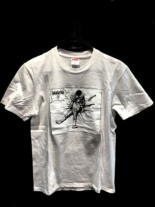 Supreme シュプリーム Tシャツ ホワイト 白 メンズ 人気ブランド【中古】 18-30525KJ