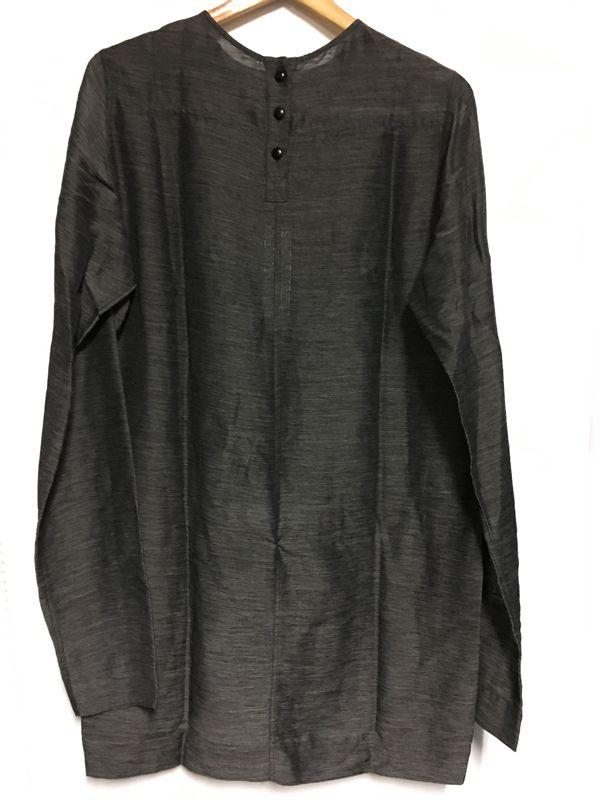 Rick Owens リック オウエンス シースルーシャツ カットソー グレー系 メンズ 人気ブランド【中古】 70-1602KJ