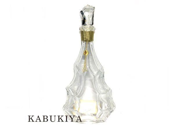 カミュ ジュビリー 空ボトル クリア 透明 インテリア 酒類 空き瓶 置物 コレクション ディスプレイ ブランデー【中古】19-37899RS