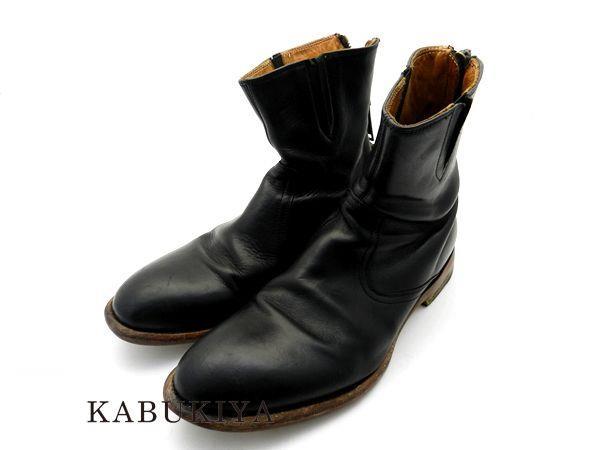 DSQUARED2 ディースクエアード ブーツ ブラック サイズ 40 USED 25cm 靴 スニーカー サイド ゴア メンズ 人気ブランド【中古】7-1669AT