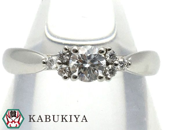 ティファニー Tiffany セブンストーンリング Pt950 ダイヤモンド プラチナ 指輪 レディース 人気ブランド【中古】18-40063AS