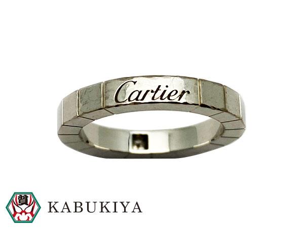 カルティエ Cartierラニエール 1PD リング 指輪 B40587 K18WG ダイヤモンドホワイトゴールドメンズ・レディース 人気ブランド【中古】19-36749LI