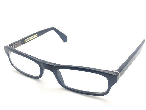 クロムハーツ メガネ 眼鏡 黒 ブラック系 メンズ レディース 人気ブランド【中古】 19-9417KJ