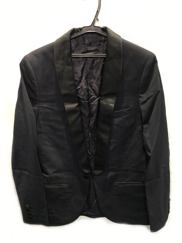 LANVIN H&M ランバン エイチ エム ジャケット ネイビー系 メンズ 人気ブランド【中古】 70-99KJ