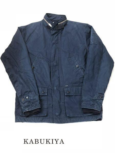 Supreme シュプリーム フライトジャケット 上着 長袖 防寒 サイズM アウター 藍色 青 ブルー系 メンズ 人気ブランド【中古】 7-2037FK
