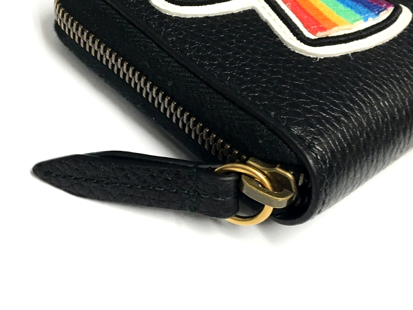 67d65a02c4ac50 ... Leather zip up wallet 474584 CAONX 8346 マーモント long wallet wallet  leather black men popularity brand ...