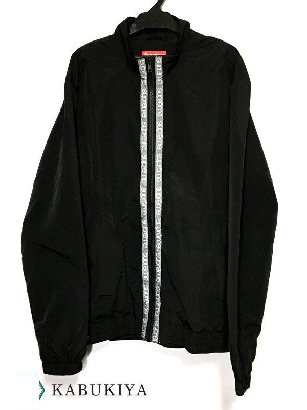 Supreme シュプリーム18SS Classic Logo Taping Track Jacket クラシック ロゴ テーピング トラック ジャケットメンズ 人気ブランド【中古】19-843AO