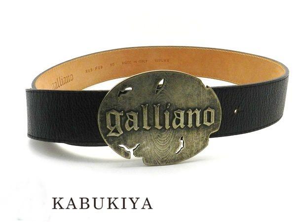 Men/'s Belt Black Letters Jhon Galliano Belt Men Black