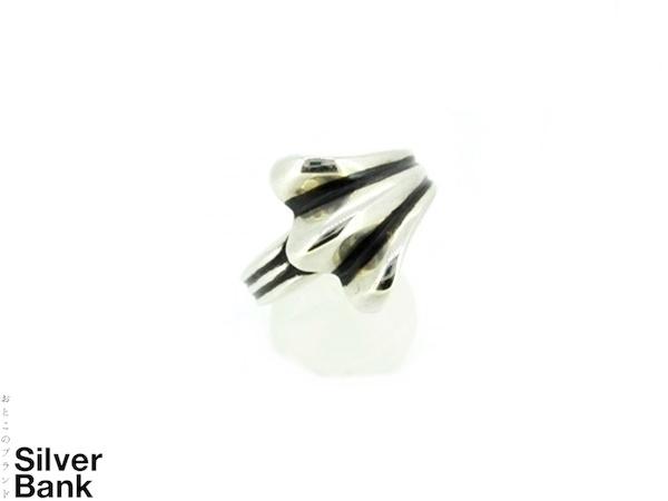 Chrome Hearts クロムハーツ ハーフ720リング SV925 シルバー 指輪 メンズ・レディース 人気ブランド【中古】 xx17-25825AR
