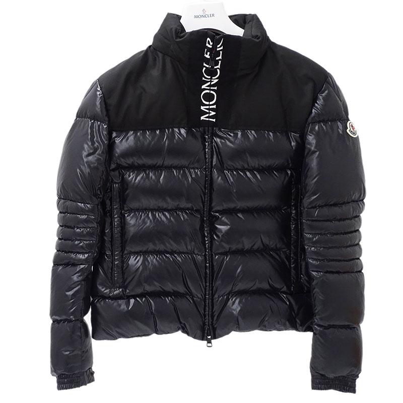 ◆モンクレール MONCLER ダウンジャケット BRUEL ブリェル ナイロン ブラック サイズ2 アウター 【中古】
