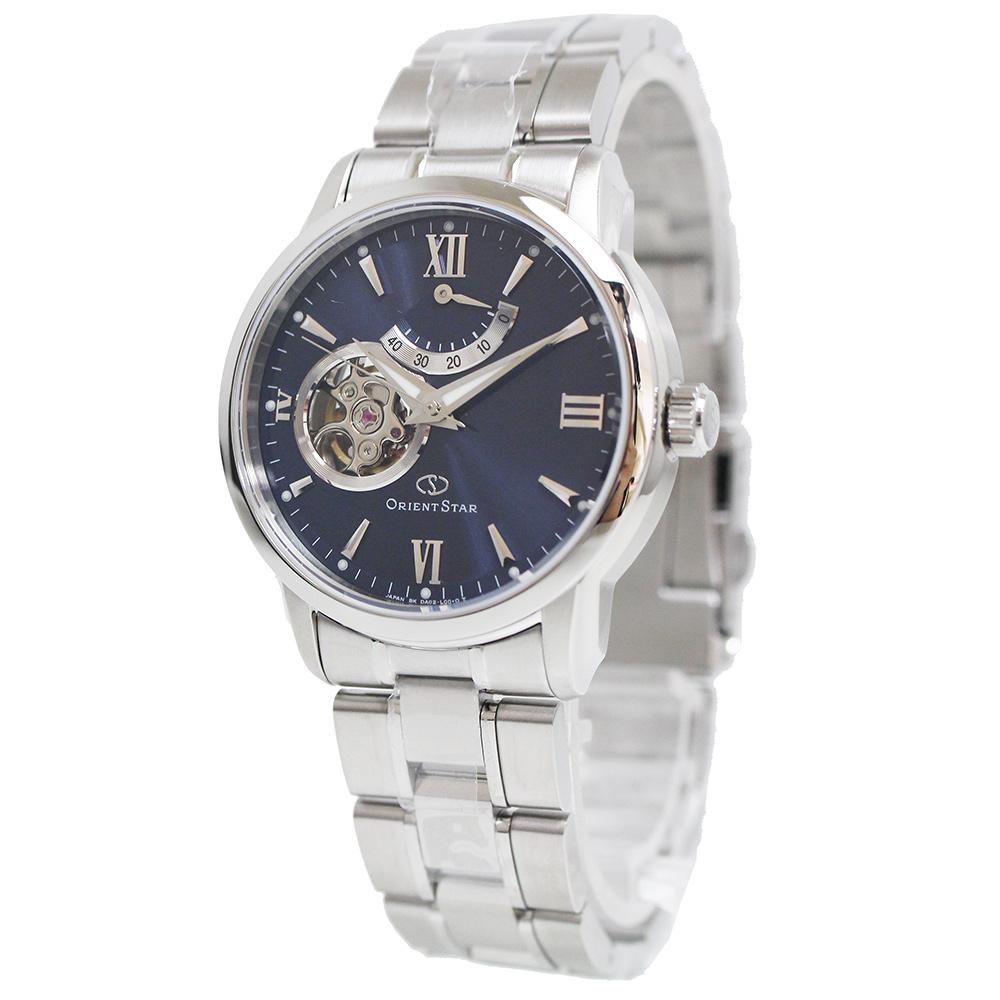 オリエントスター セミスケルトン 自動巻き メンズ 腕時計 WZ0081DA 箱付【未使用 展示品】