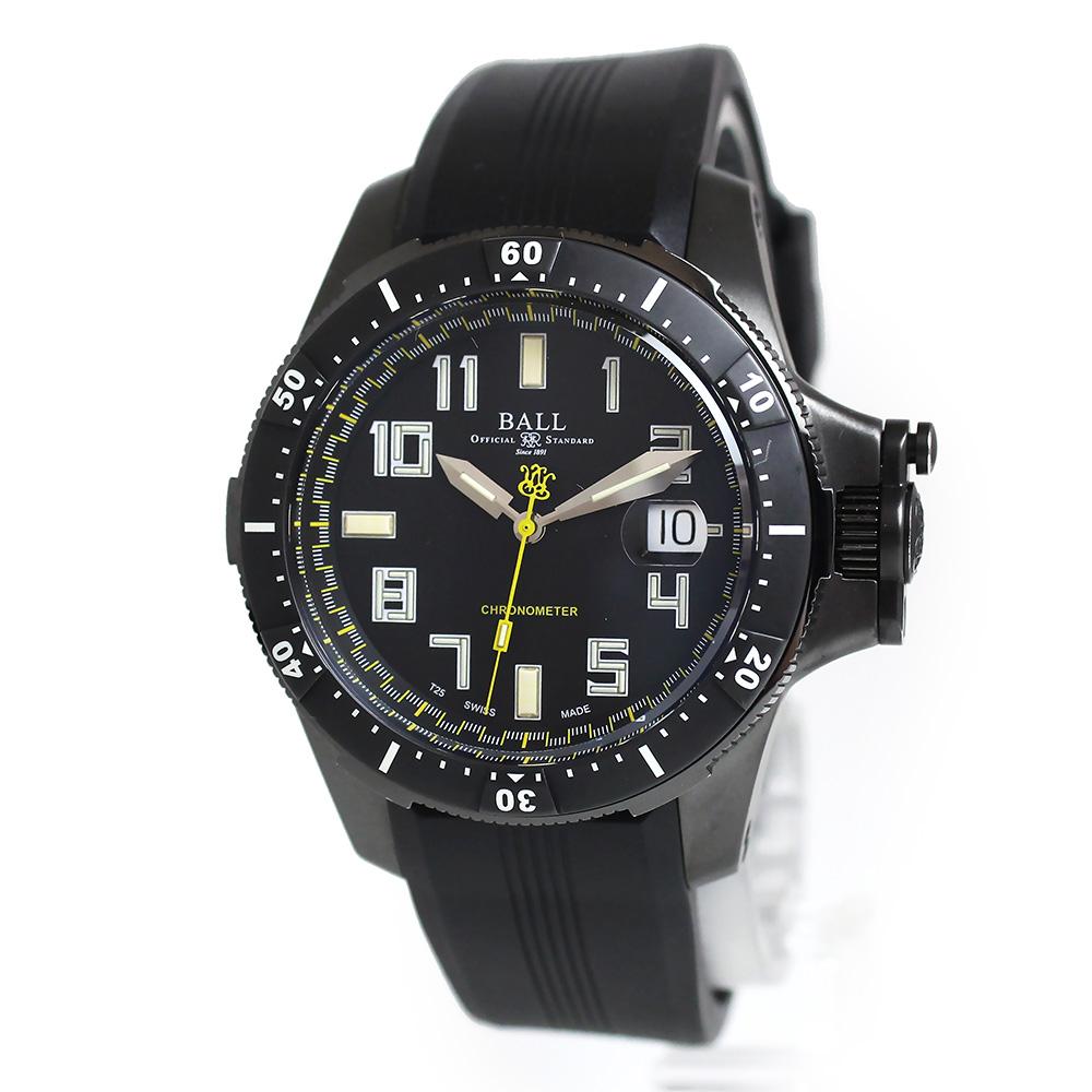 ボール・ウォッチ エンジニア ハイドロカーボン 自動巻き メンズ 腕時計 DM2176A-P1CAJ-BK ブラック 黒 箱付【美品】