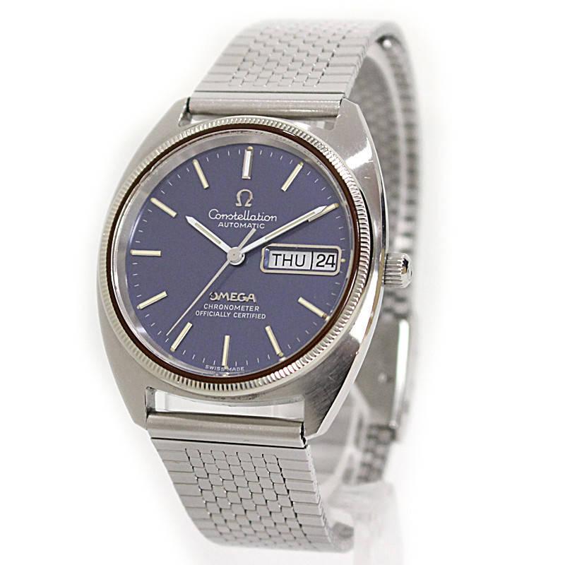 オメガ コンステレーション デイデイト クロノメーター 腕時計 1680057 【中古】