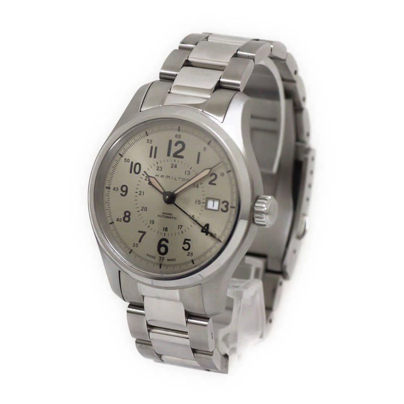 ハミルトン カーキ フィールド 腕時計 替ベルト付 H70595523【美品】