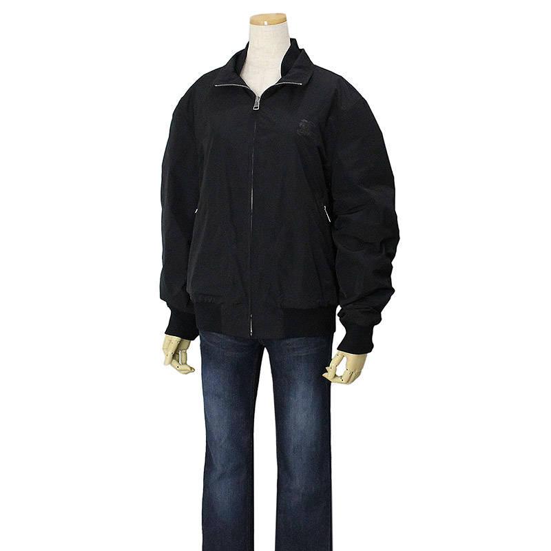 バーバリー ブリット ブルゾン ジャケット M ブラック 3630119 【中古】
