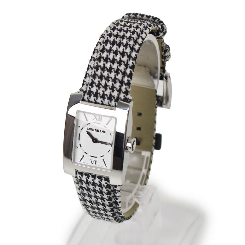 モンブラン プロファイル クォーツ腕時計 36991【未使用 新品同様】