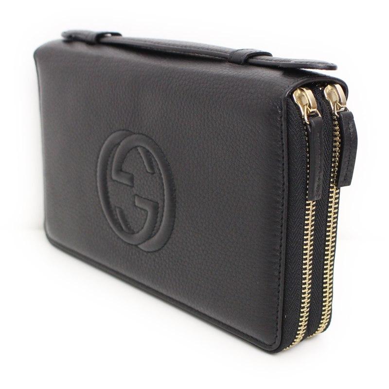 fcd7815de5ed8 Brandcity Gucci Soho Travel Doent Case 306118 Rakuten Global