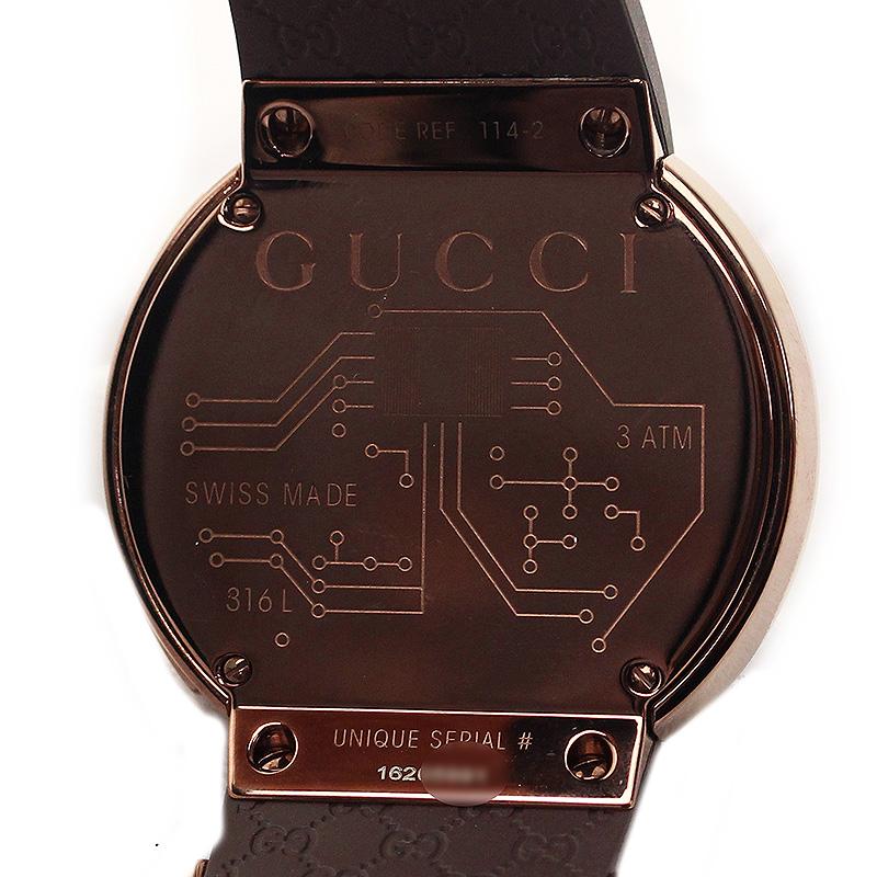 e38134a8e61 BrandCity  Ai Gucci Gucci XL quartz digital men watch YA114209 ...