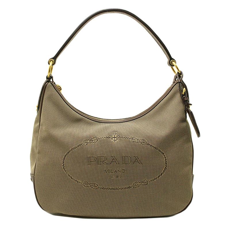 f0f728b1d3 BrandCity  Prada logo jacquard shoulder bag BR3422
