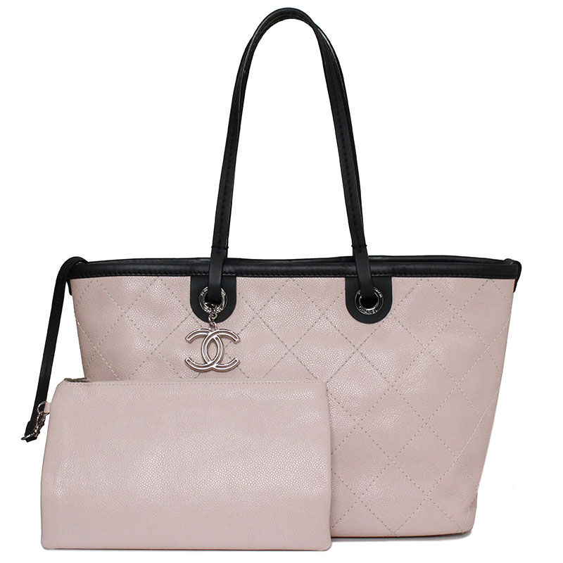 57d69a6c9683 BrandCity: Chanel caviar skin tote bag A92211 | Rakuten Global Market