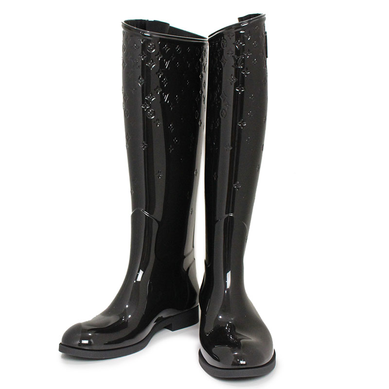 576e76a655a BrandCity  Louis Vuitton drops line flat high shoes rain boots 37 ...