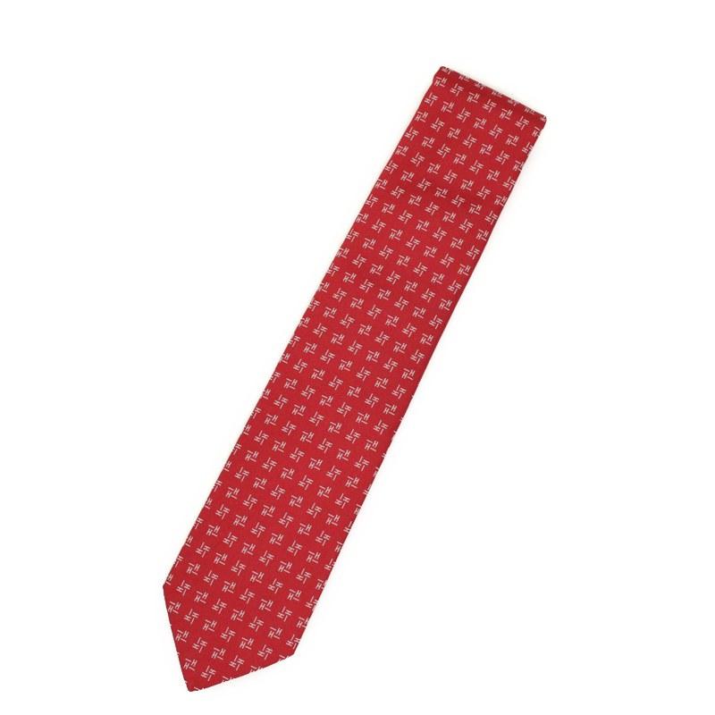 エルメス シルク100% ネクタイ Digi H H659198T【新品・未使用品】