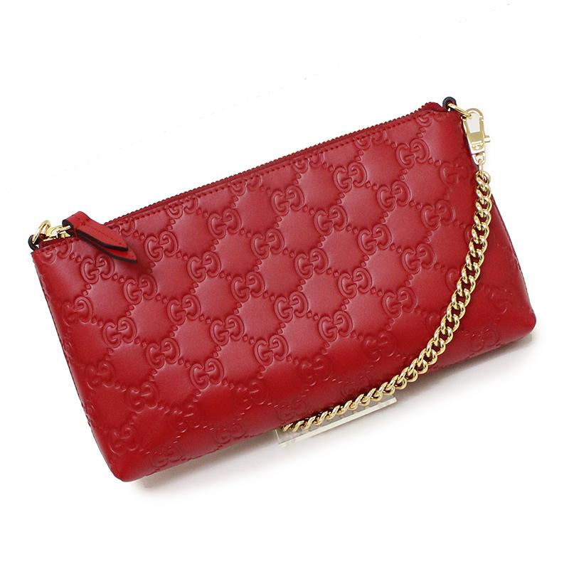 39a7ff24616283 BrandCity: Gucci Gucci sima signature chain wallet 428449   Rakuten ...