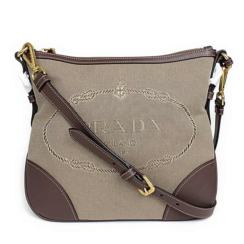 ad78fd8d46 ... spain prada logo jacquard shoulder bag bt867a e85bc 6222e