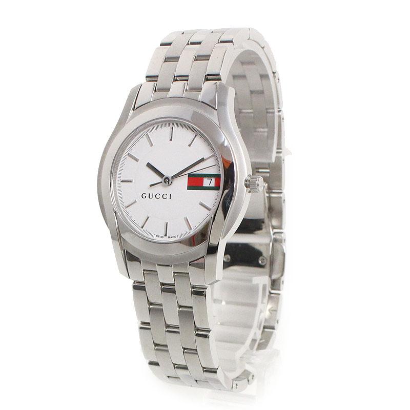 グッチ Gクラス メンズ 腕時計 クォーツ YA055311【美品】