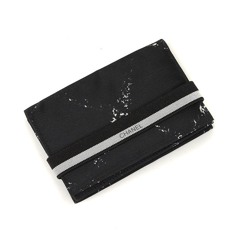 【最大3万円OFFクーポン配布開始♪ご利用は7/1(水)0時から】シャネル 旧トラベルライン カードケース【未使用 展示品】