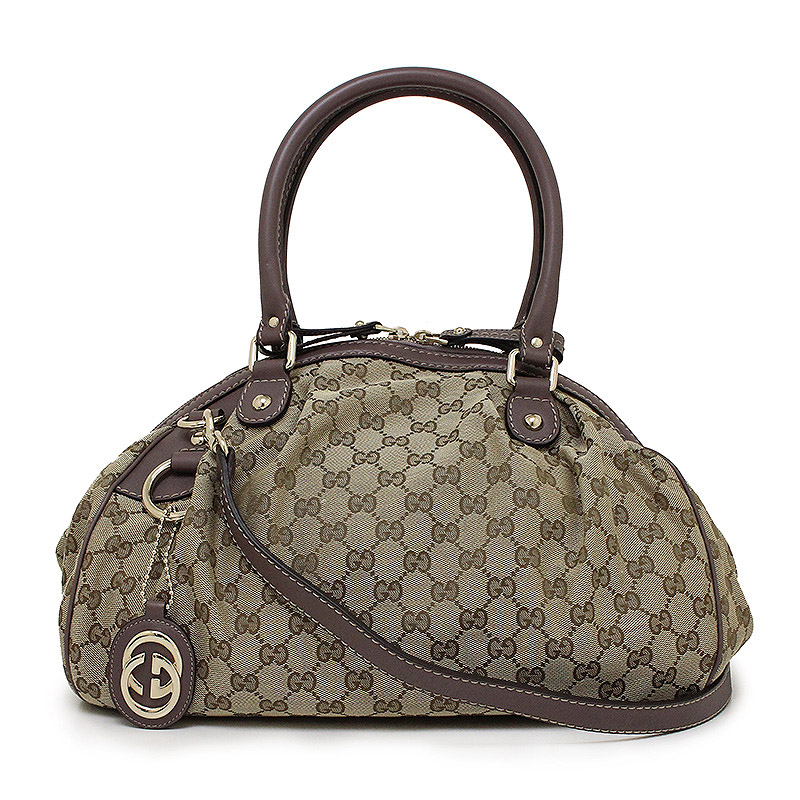 100737e6450a BrandCity: Gucci GG canvas Sioux key 2WAY Boston bag 223974 ...