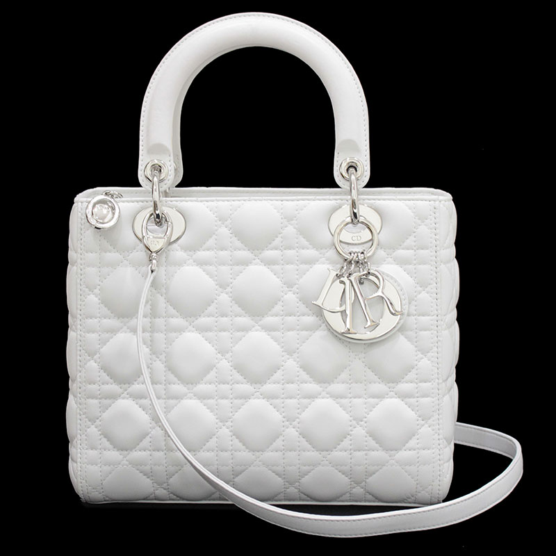 d8aae0cdcf BrandCity: Christian Dior lady Dior 2WAY bag CAL44551 | Rakuten ...