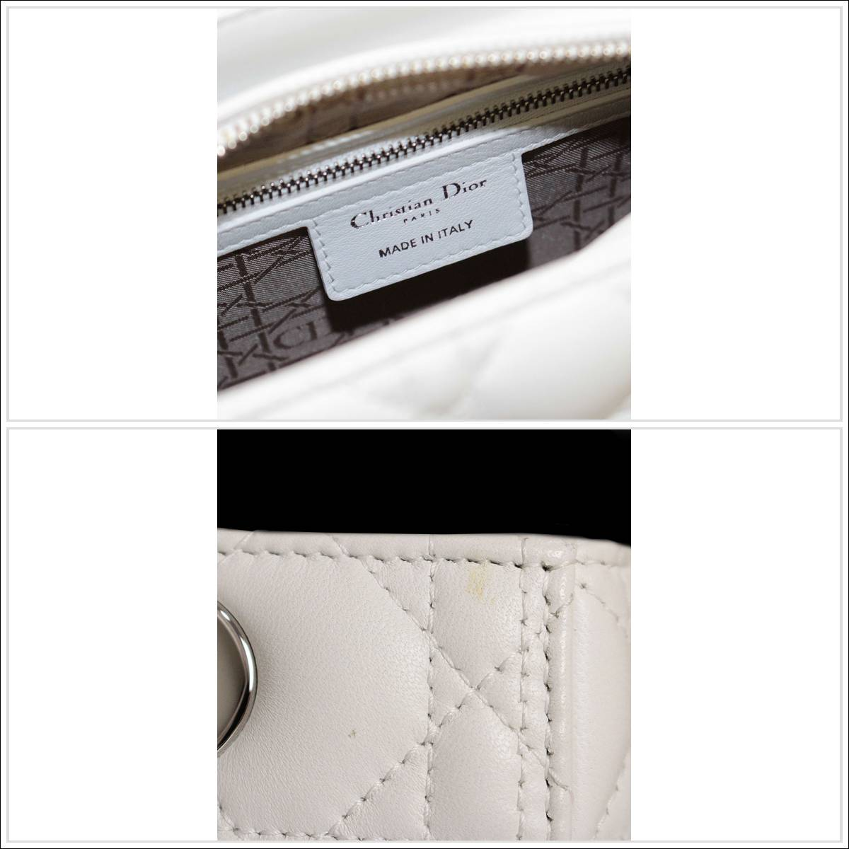 BrandCity  Christian Dior lady Dior 2WAY bag CAL44551   Rakuten ... 58a8d595ed