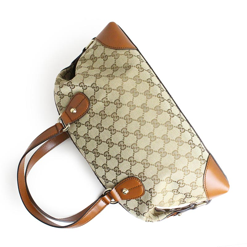06e9a2398e04 BrandCity: Gucci GG canvas brick lane Boston bag 296898 | Rakuten ...