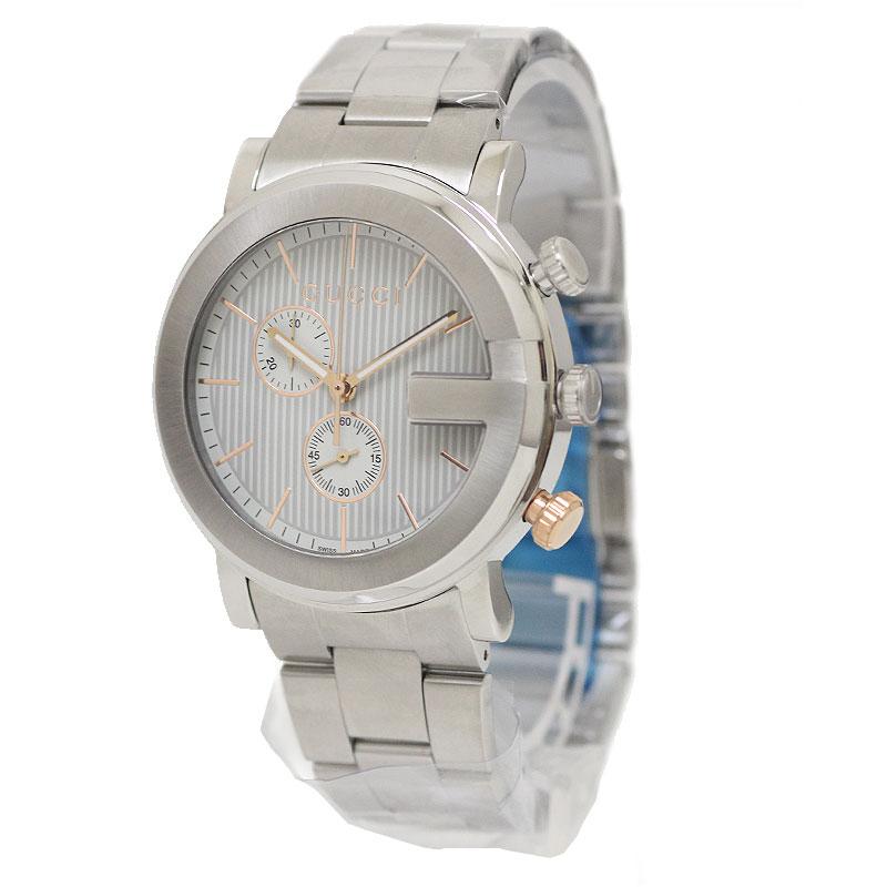 グッチ Gクロノ メンズ 腕時計 101M YA101360 【新品・未使用品】