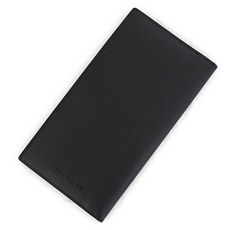 ブルガリ クラシコ グレインレザー 二つ折り長財布 20308【新品・未使用品】